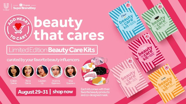 Unilever and Shopee Beauty That Cares