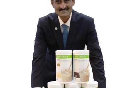 Sridhar Rajagopalan, Senior Director, Sub-Region Head, and General Manager of Herbalife Nutrition Philippines
