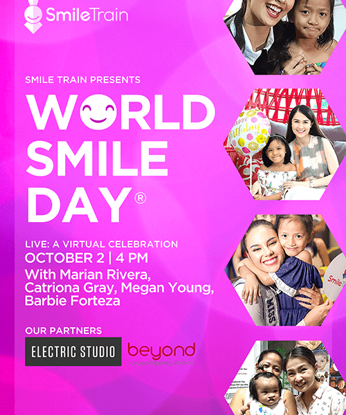 Smile Train Philippines World Smile Day