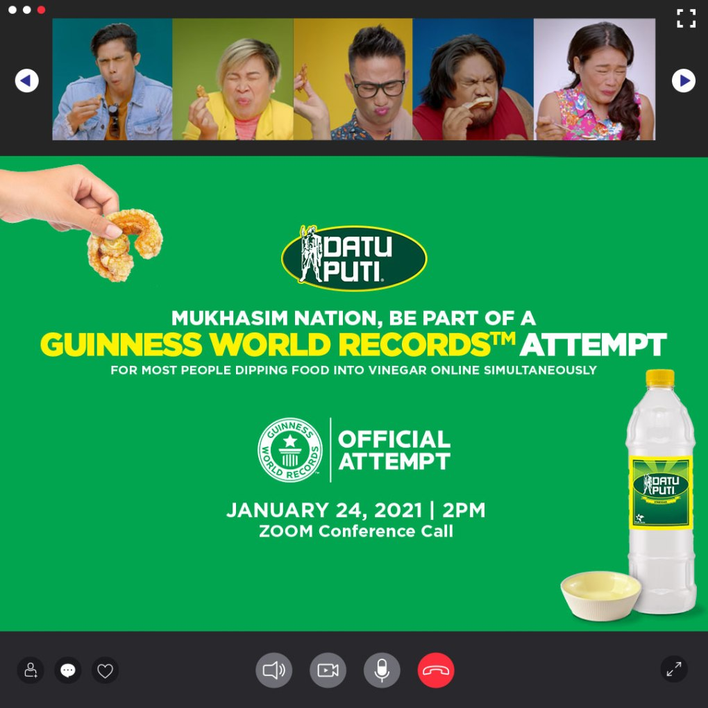Datu Puti Guinness World Records Mukhasim Nation