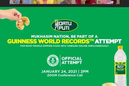Datu Puti Guinness World Records Mukhasim Nation