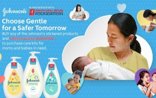 Johnsons and Mercury Drug Foundation Newborn Kits