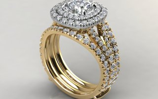 Moissanite Bridal Sets