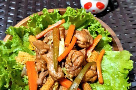 Mongolian Chicken Ajinomoto Umami Seasoning