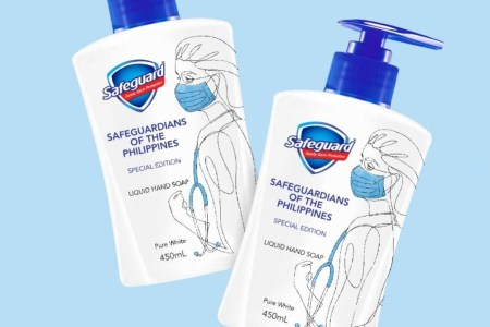 Safeguard limited-edition liquid hand soap