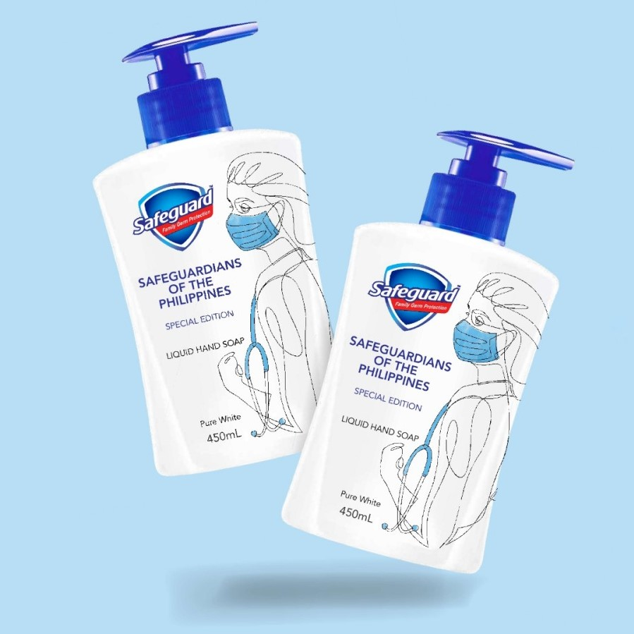 Safeguard limited-edition liquid hand soap