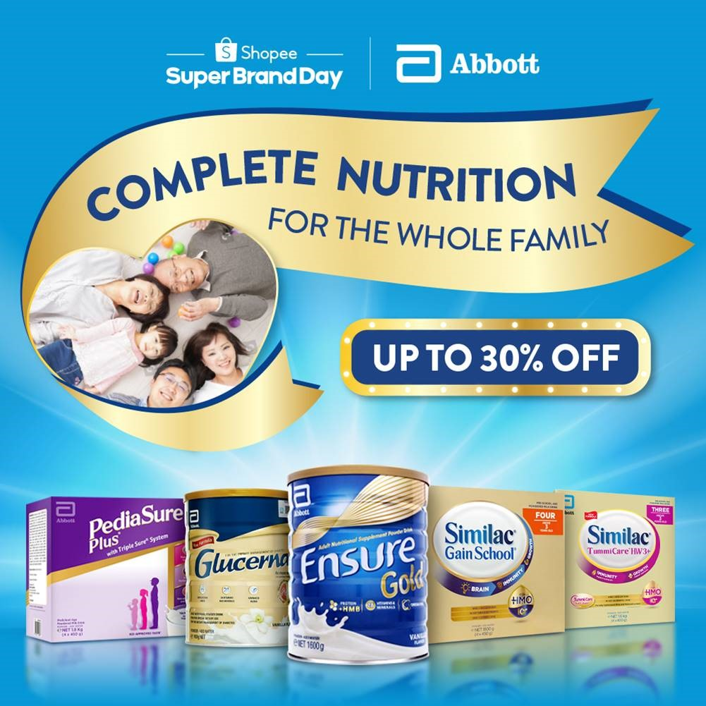 Shopee and Abbott Nutrition Campaign