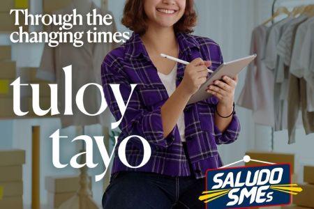 Globe Saludo_Tuloy Tayo