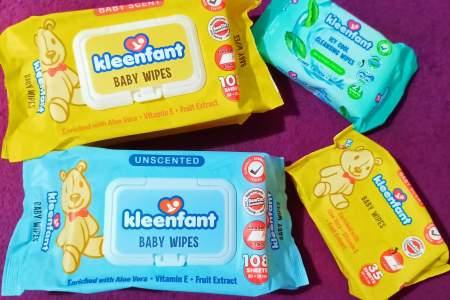 Shopee Kleenfant Baby Wipes