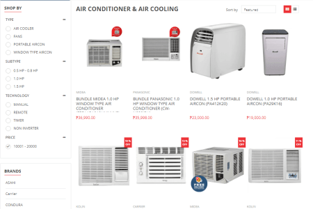 Robinsons Appliances Airconditioner