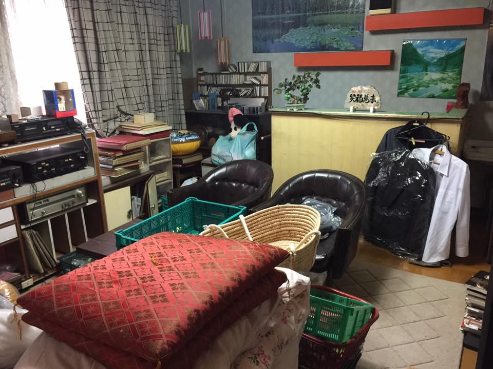 雑貨屋の居間