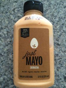 Just mayo sriracha sauce, Hampton creek