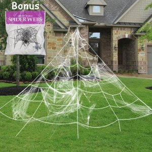 spider web halloween decoration, halloween spider web, halloween outdoor spider web