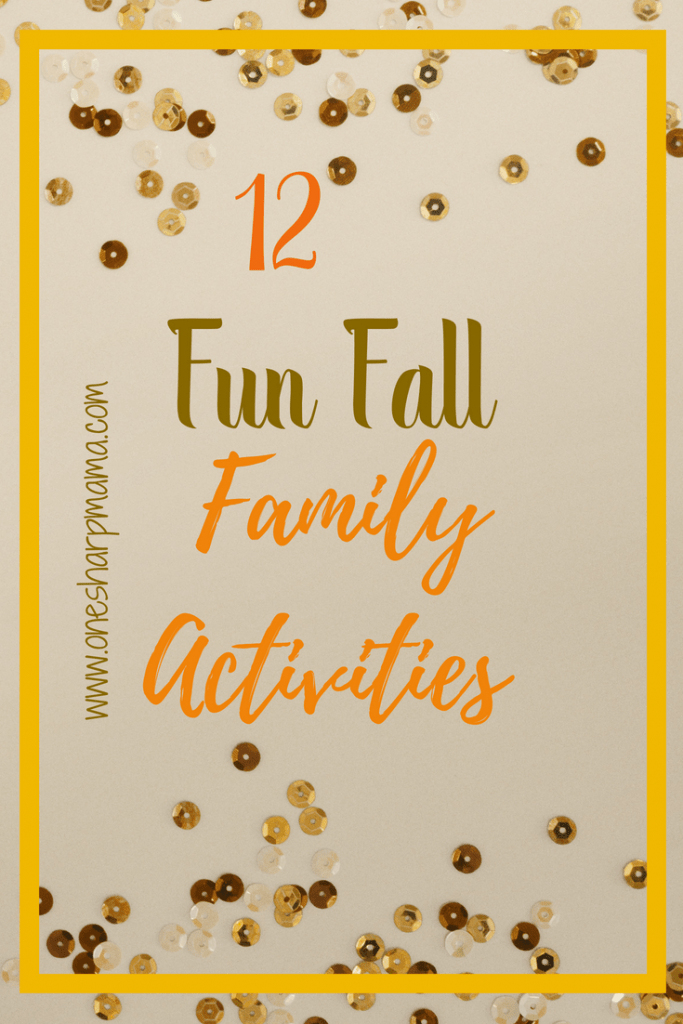 12 Fun fall family activities to enjoy as a family. Fall is my favorite times of the year. Our family enjoys fun fall activities. #fallfamilyfun #funfall #familyactivities