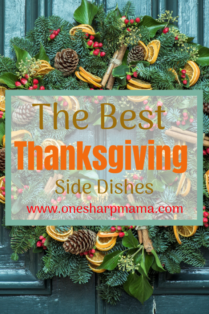 Are you ready for thanksgiving? Are you cooking thanksgiving dinner for the family? are you in charge of bringing some thanksgiving side dishes? Here is a round up post of all the best thanksgiving side dish recipes I could find! I'd love to have all of these on my plate. Check it out and let me know your favorite. #thanksgiving #thanksgivingsidedish #thanksgivingrecipe #turkeyday #turkeyrecipe #sidedish #sidedishrecipe
