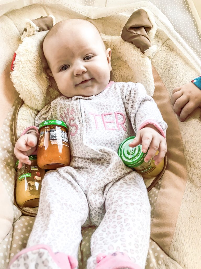 Beech- nut naturals are a great first time baby food option. healthy baby food is important. #beechnutpartner #ad