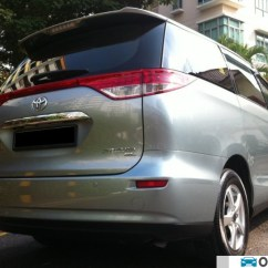 All New Camry Singapore Grand Avanza G Putih Toyota Previa Super Deluxe 2.4 8-seater With Moonroof (a ...
