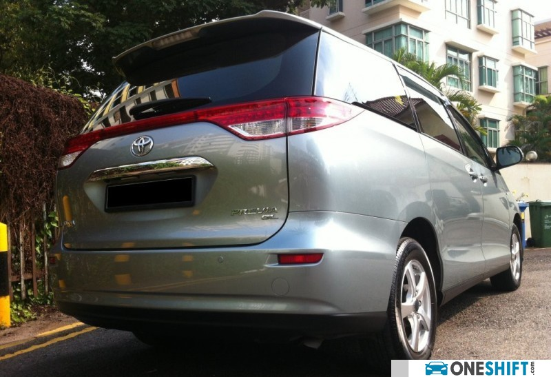 all new camry singapore grand avanza e 2015 toyota previa super deluxe 2.4 8-seater with moonroof (a ...
