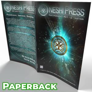 Oneshi Press Comics Anthology Number One paperback cover open