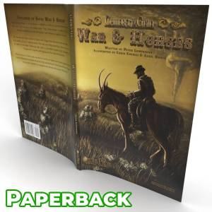 Children of Gaia: War & Horses - illustrated novel paperback book wrap around cover