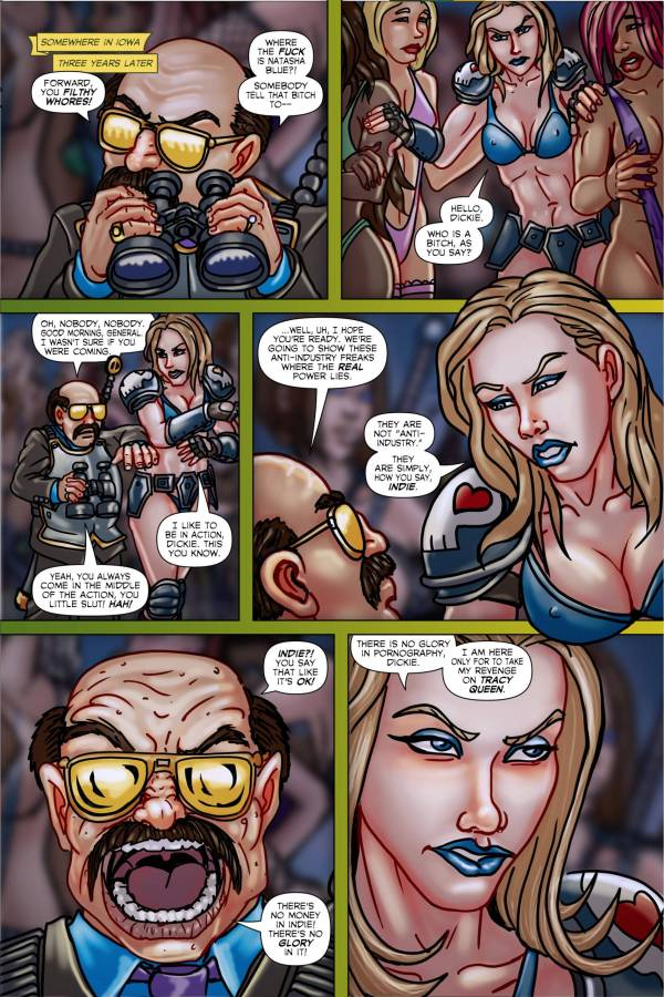 Tracy Queen Volume 2 page 4 - Free sample comicbook page
