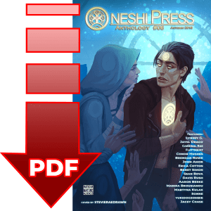 Oneshi Press Comics Anthology number six, now available as a digital .pdf download