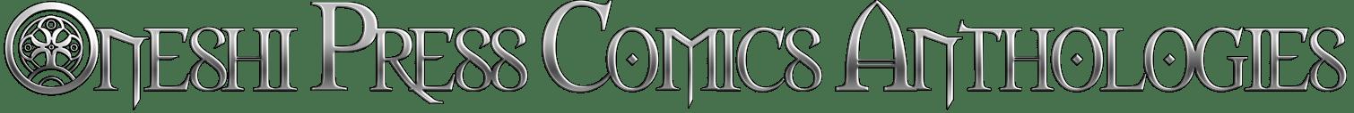 Oneshi Press Comics Anthologies metallic logo
