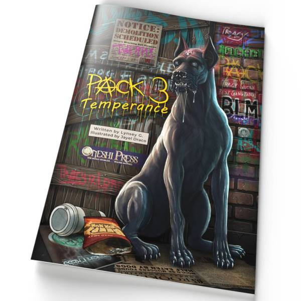 PACK 03 Temperance comic book cover