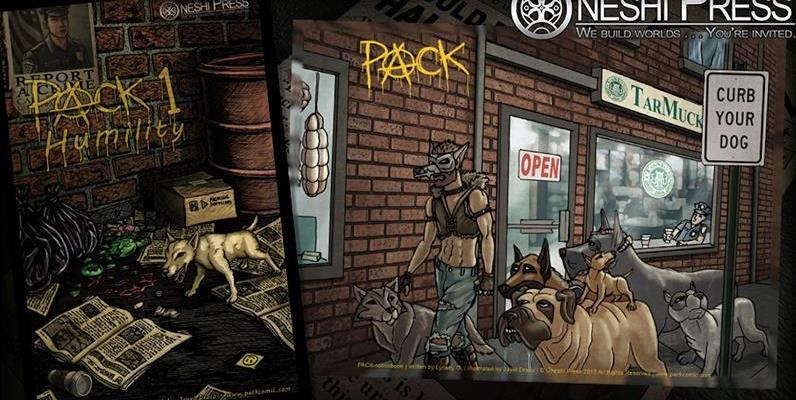 kickstarter pack comic book oneshi press