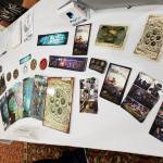 Oneshi Press table at SpoCon 2018