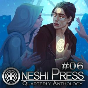 oneshi press anthology 6 cover art stevieraedrawn