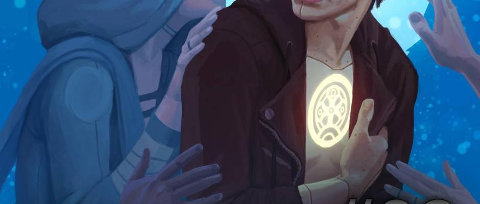 oneshi press anthology 6 cover art stevieraedrawn