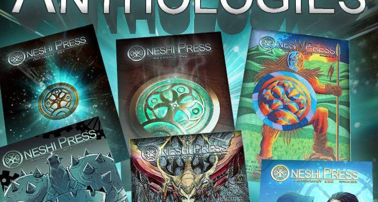 oneshi press comics anthologies