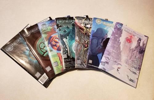 oneshi press quarterly anthologies