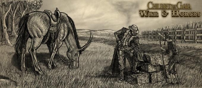 war & horses etching chris covelli peter lampasona oneshi press