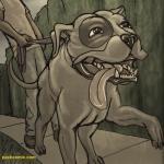 kindness pit bull walk