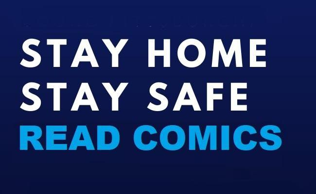 stay safe stay home read comics oneshi press