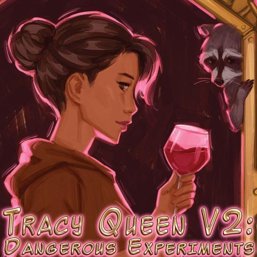 tracy queen v2 dangerous experiments square logo cover tangmo cecchini
