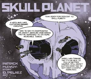 skull planet cover image by olivia pelaez and patrick mcevoy