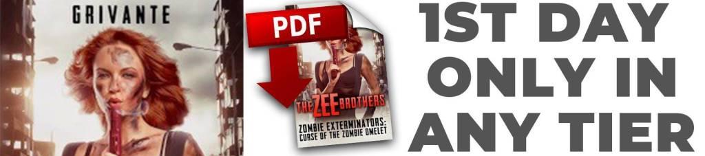 zee brothers: zombie exterminators, a novel by grivante
