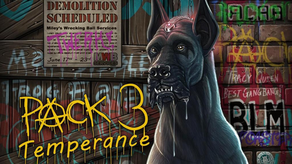 PACK 3: Temperance the tech-enhanced great dane
