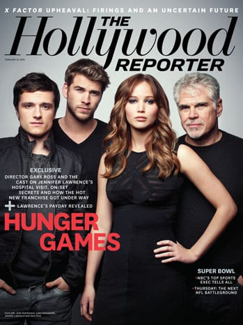 issue 5 hunger games cast