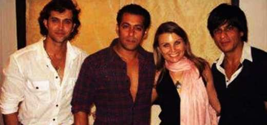 Hrithik Roshan, Shah Rukh Khan, Salman Khan Spotted Together