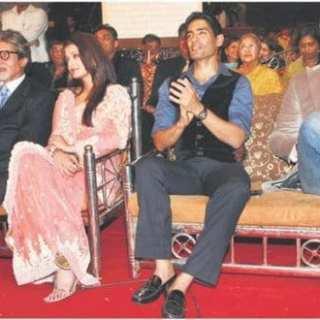 Aishwarya Rai Bachchan & Vivek Oberoi at the Mumbai Police Show