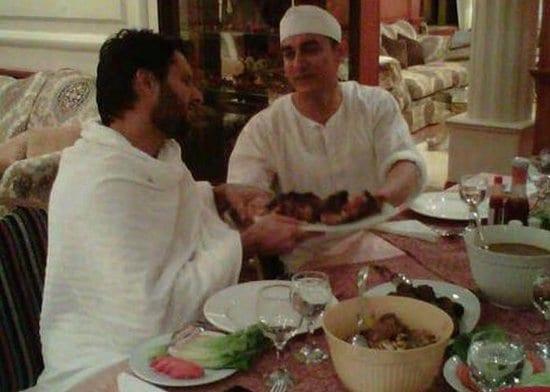 aamir-afridi-dinner