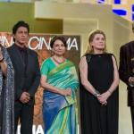 Amitabh Bachchan, Catherine Deneuve, Shah Rukh Khan, Tabu & Sharmila Tagore at the Marrakech Film Festival