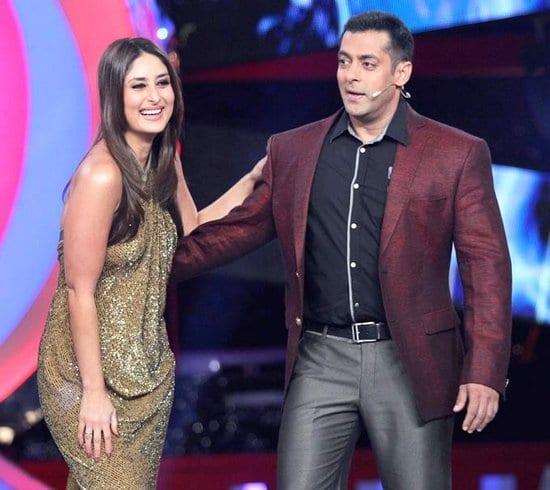 Salman Khan & Kareena Kapoor on Bigg Boss – OneShotOnePlace