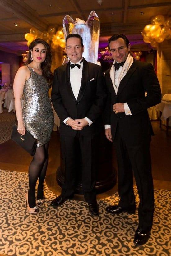 Kareena Kapoor & Saif Ali Khan Spotted on New Year's Eve in Switzerland
