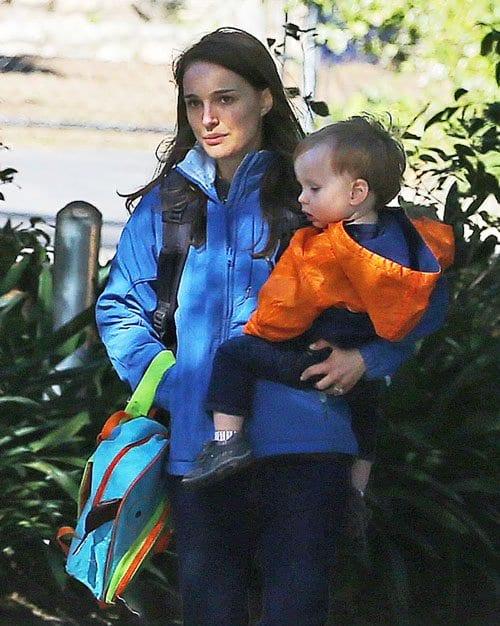 Natalie Portman & Aleph Spotted