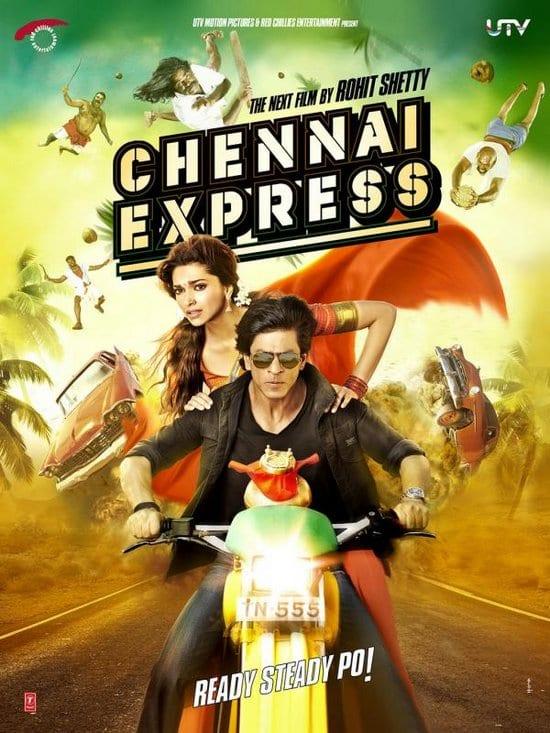 Shah Rukh Khan & Deepika Padukone in Chennai Express